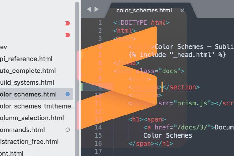 Sublime Text3.2 affiche l'état des projets Git