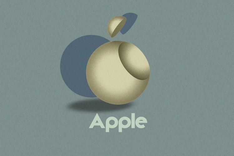image en galerie : Concept : un nouveau logo Apple pour les 100 ans du Bauhaus