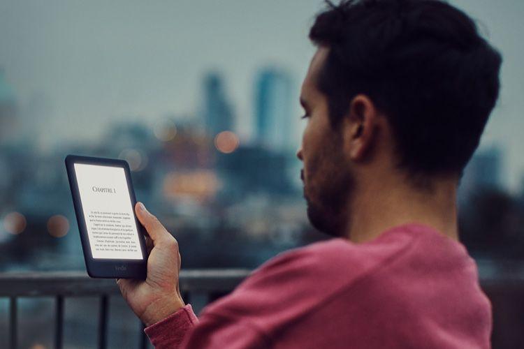 Un nouveau Kindle à 79 €avec éclairage frontal