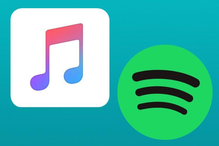 La croissance d'Apple Music est plus forte que celle de Spotify