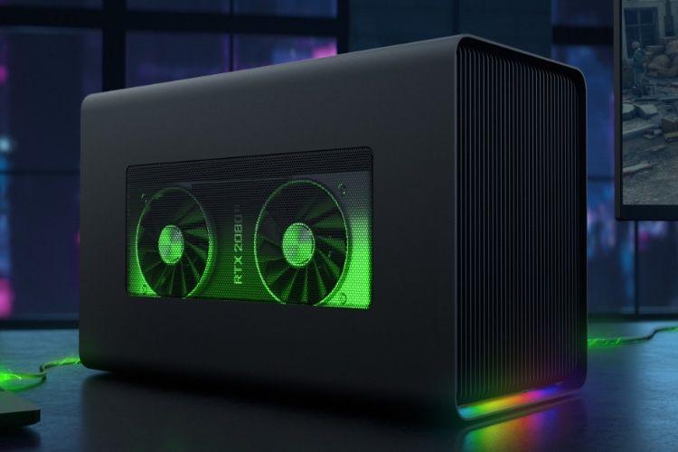 Core X Chroma : nouveau boîtier eGPU coloré compatible Mac chez Razer
