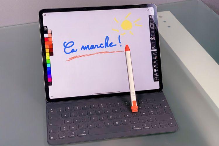 Le Crayon de Logitech compatible avec les iPad Pro 2018 et un peu moins cher