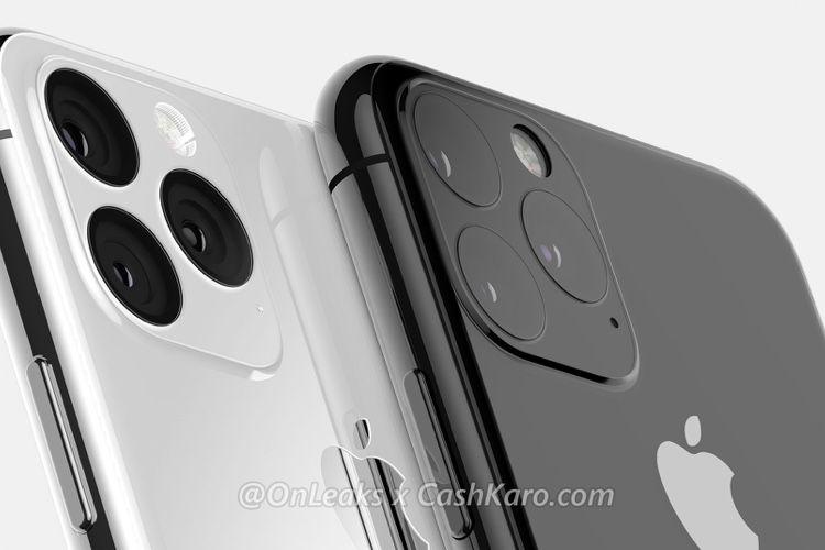 iPhone 2019 : des rendus 3D plus précis pour le bloc à 3 optiques