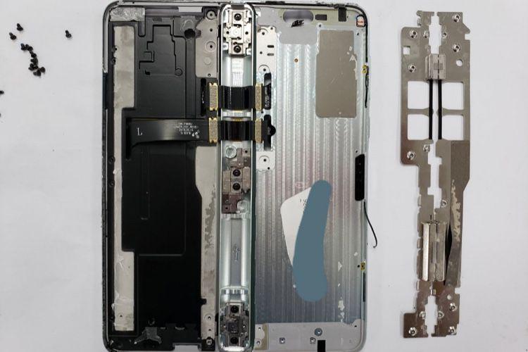 Sans surprise, le Galaxy Fold ne sera pas facile à réparer