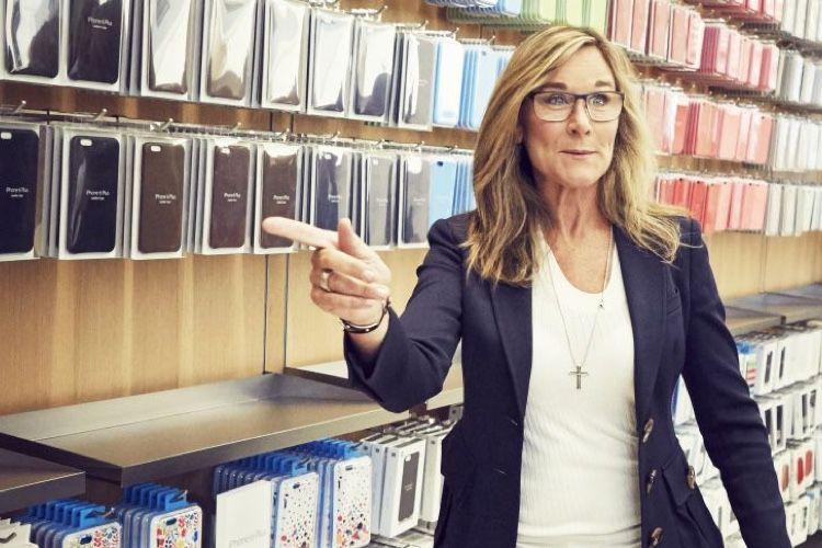 Angela Ahrendts a officiellement quitté Apple