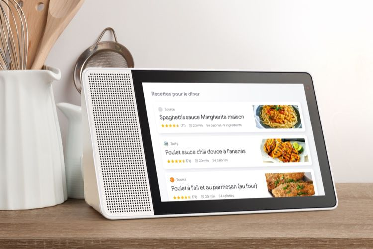 Google Assistant : le Lenovo Smart Display en vente en France à partir de 179 €