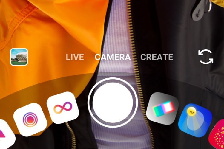 Un nouveau mode Caméra pour Instagram