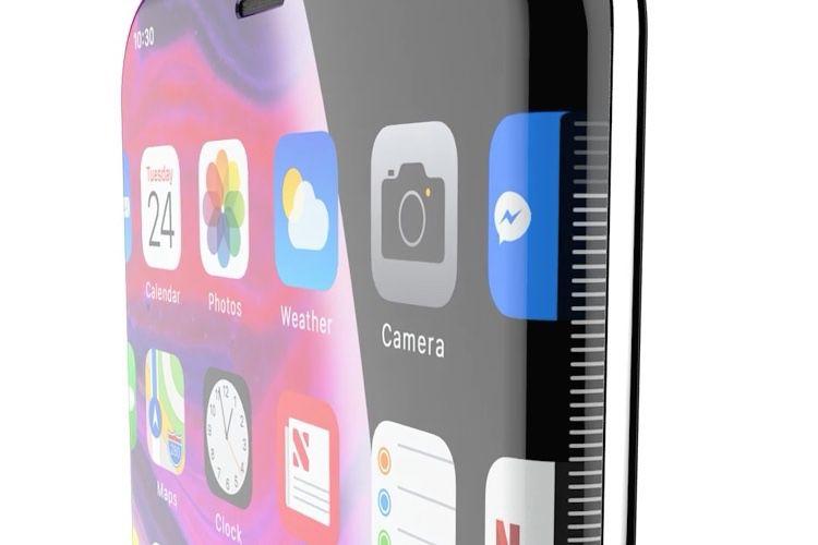 video en galerie : Pas de bouton, pas d'encoche et un écran qui déborde pour ce concept d'iPhone XII