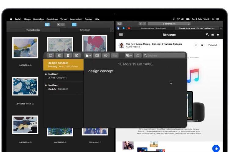 video en galerie : macOS : un concept qui rapproche un peu trop le Mac de l'iPad