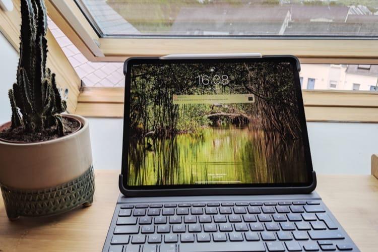 Test du Slim Folio Pro de Logitech, un étui avec clavier pour iPad Pro (2018)