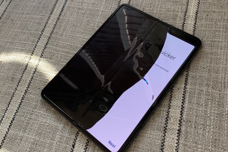 Scintillements, bosse : bad buzz pour le Galaxy Fold