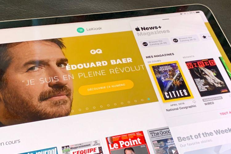 Apple News+ face à LeKiosk, quel est le mieux pour lire la presse?