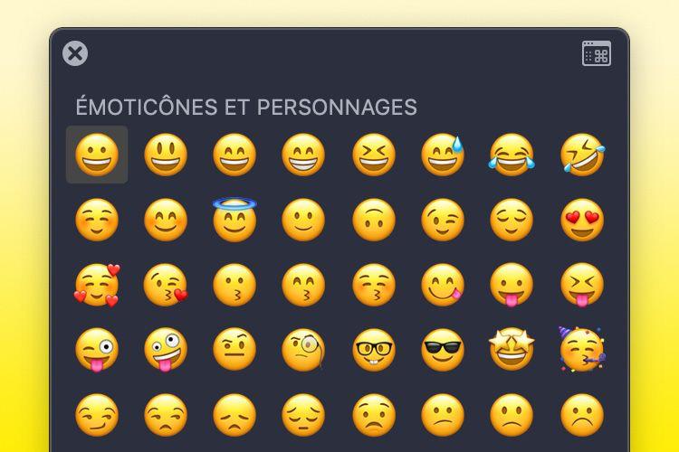 Tout savoir sur : émoji & caractères spéciaux sur Mac