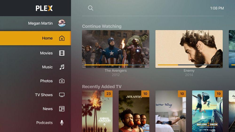 Sur Apple TV, Plex teste sa nouvelle interface | iGeneration