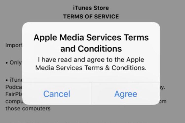 App Store : une alerte qui revient en boucle empêche les téléchargements