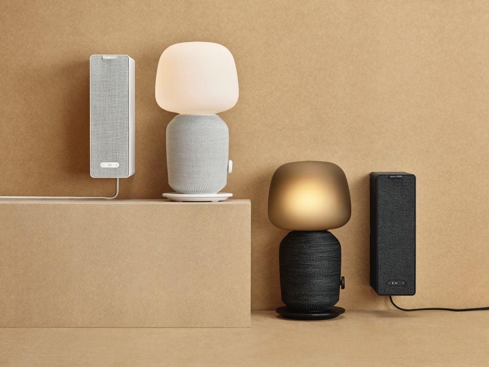 Sonos et Ikea dévoilent une lampe-enceinte pour la chambre