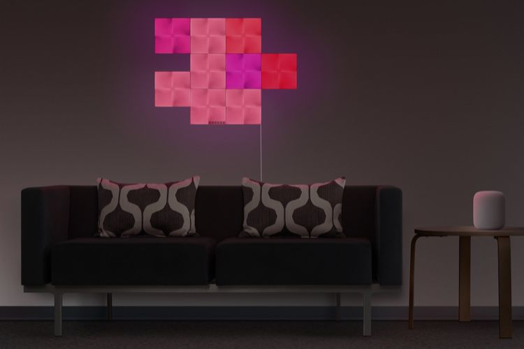 Test du Nanoleaf Canvas, un panneau lumineux HomeKit