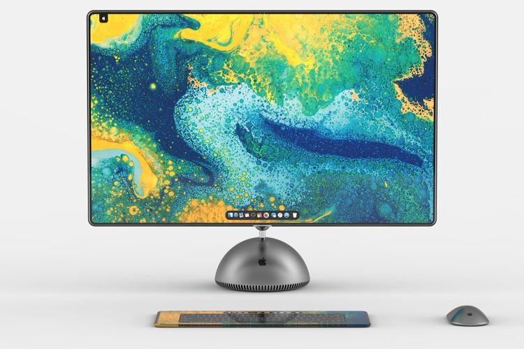 image en galerie : Concept : un iMac G4 remis au goût du jour