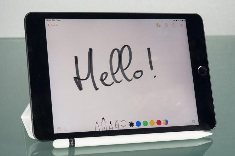 Test de l'iPad mini (5e génération, 2019)