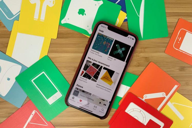 Apple Music : davantage de musique dans l'onglet Pour vous