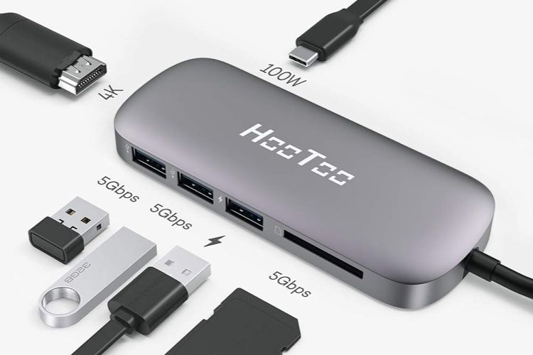 Promo: le hub USB-C HooToo 100W à 30€