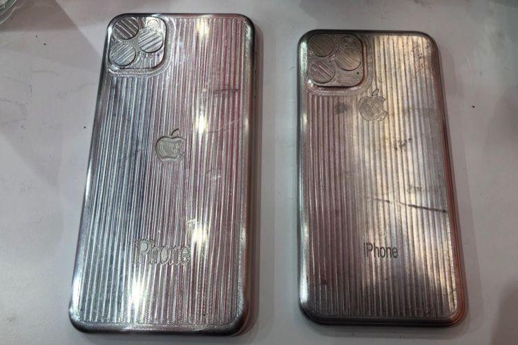 image en galerie : Le bloc aux appareils photo des futurs iPhone entre dans le moule