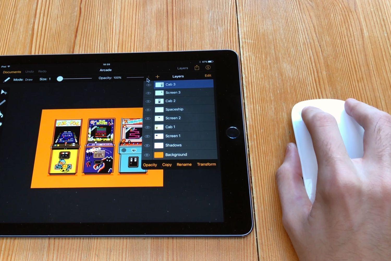 La souris prise en charge sur iPad comme périphérique d'accessibilité?