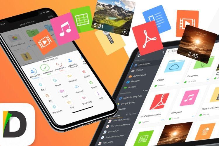 Avec FileDrop, l'app Documents a son clone d'AirDrop