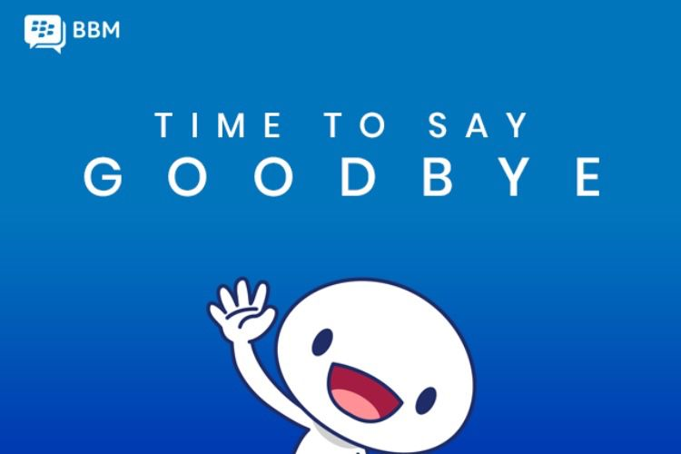 La fin d'une époque : la messagerie BBM va fermer ses portes