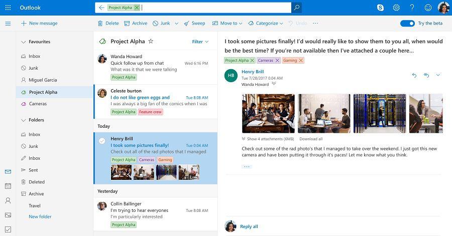 Des comptes Outlook.com ont été compromis