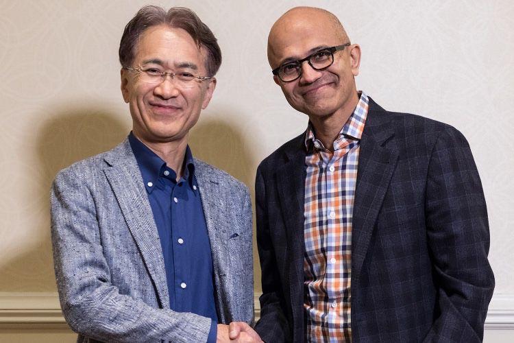 Microsoft et Sony vont travailler ensemble sur le cloud gaming