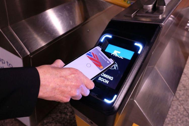 Les métros de Londres et New York s'ouvrent au mode Transport express d'Apple Pay