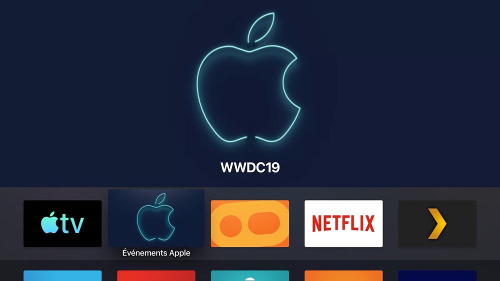Apple Tv L App Evenements Apple A Jour Pour Le Keynote De La Wwdc 2019 Igeneration