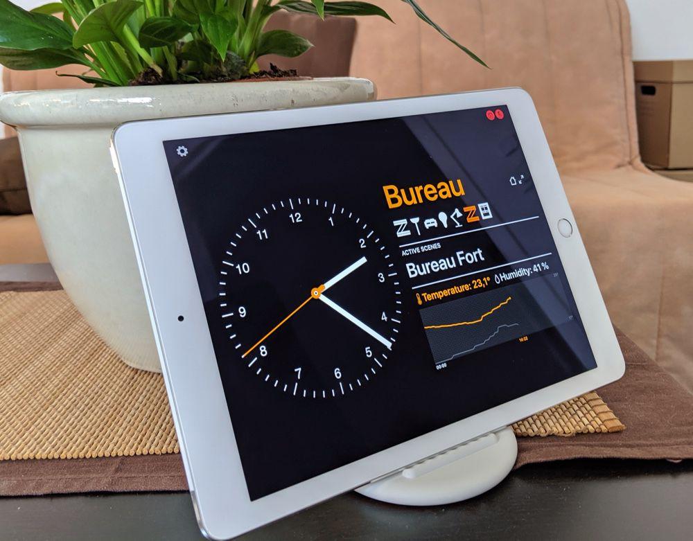 Un iPad ou un iPhone en tableau de bord HomeKit grâce à Wallflower