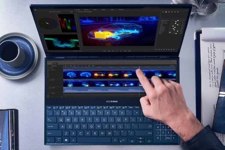 Nouveaux ZenBook Duo d'Asus : un PC portable à deux écrans, c'est tout de même mieux