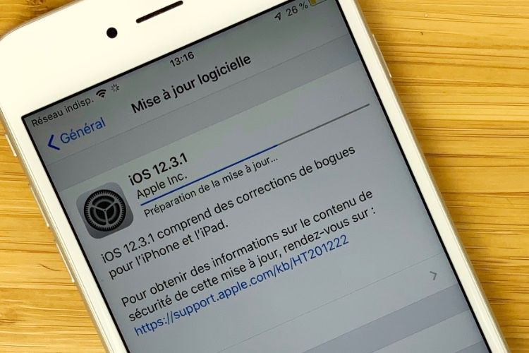 iOS 12.3.1 corrige des bugs dans Messages et les appels VoLTE