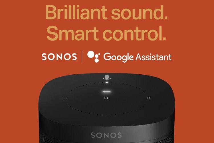 Google Assistant sur Sonos, dès la semaine prochaine