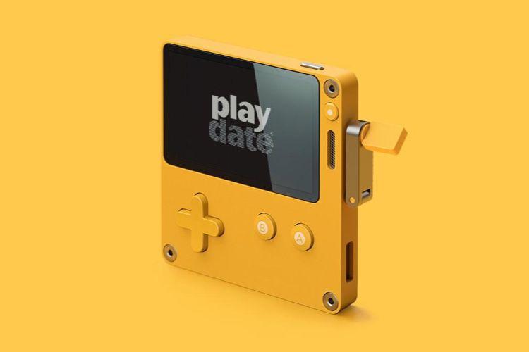 Le Playdate du studio Panic est une console de jeux à manivelle pleine de surprises