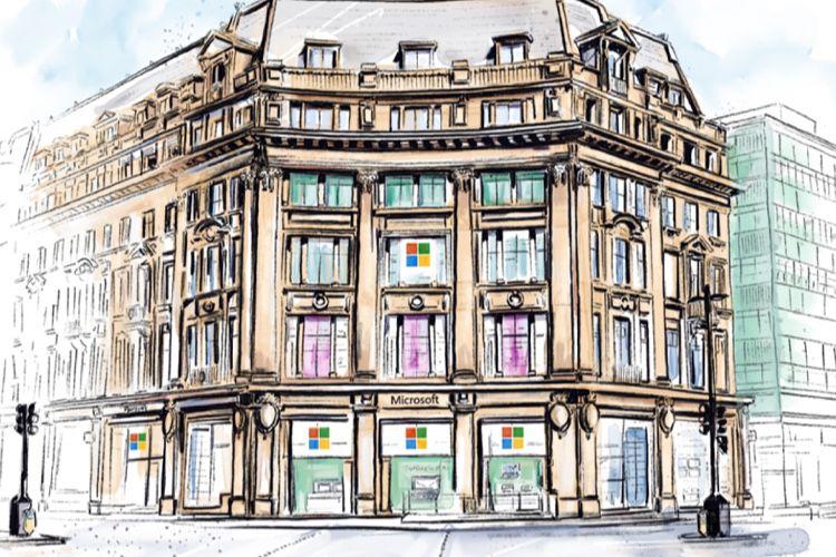 Le premier Microsoft Store européen ouvre cet été à Londres