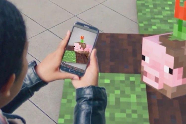 Microsoft fait miroiter un Minecraft en réalité augmentée