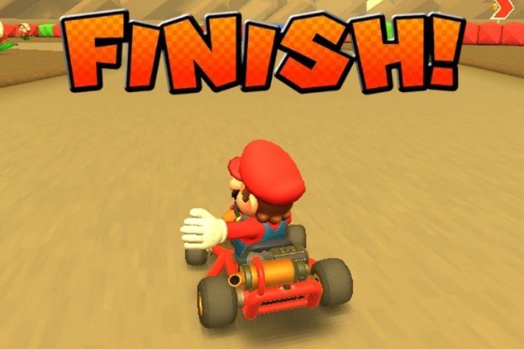 Premier tour de piste pour Mario Kart Tour