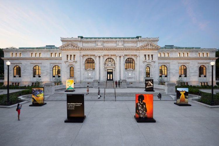 Apple Carnegie Library : un mariage public-privé pour une restauration haut de gamme