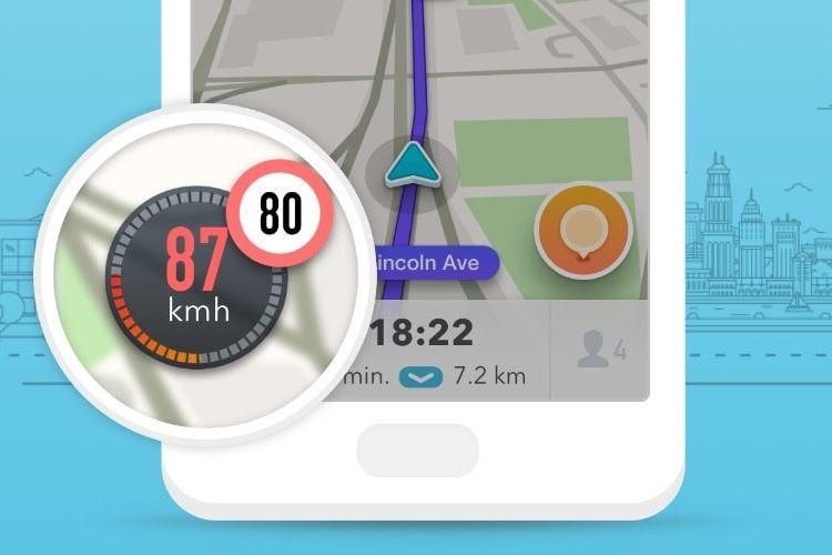 Waze: le compteur de vitesse en route dans CarPlay