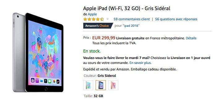 Promos : MacBook Air à 849 €, iPad à 300 €, iPad Air cellulaire à 800 €, iPad mini 256 Go à 570 €