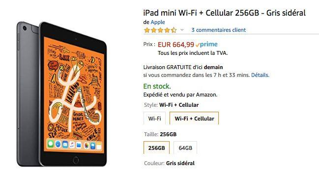 meilleurs prix sur des pieds à produits de qualité Promos : -60€ sur l'iPad, -104€ sur l'iPad mini, -119€ sur ...