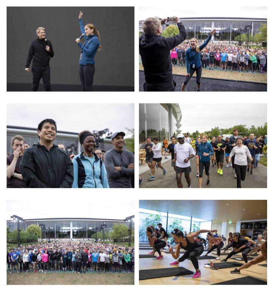 Apple a enfin inauguré son campus Apple Park