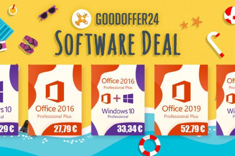 GoodOffer24 : jusqu'à 20% de réduction sur une large sélection de logiciels ! 📣