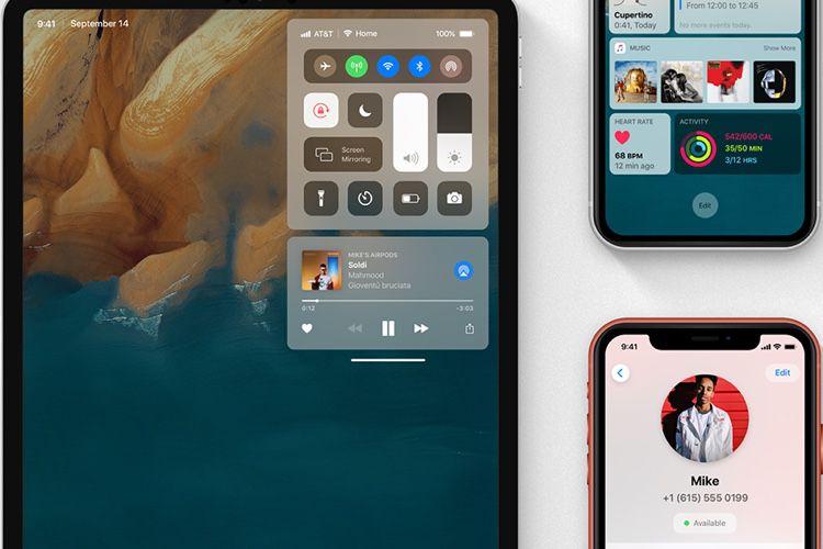 Les rumeurs des nouvelles fonctions d'iOS 13 mises en image