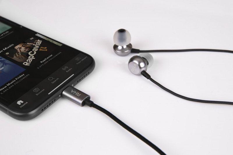 Rha Dévoile De Nouveaux écouteurs Intra Auriculaires Lightning