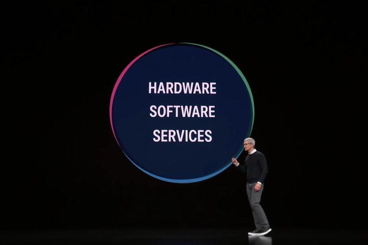 Comment Apple pousse ses services dans ses appareils